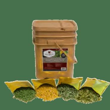 , 120 Serving Vegetable Bucket Combo, Rapid Survival, Rapid Survival