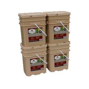 , 480 Serving Vegetable Bucket Combo, Rapid Survival, Rapid Survival