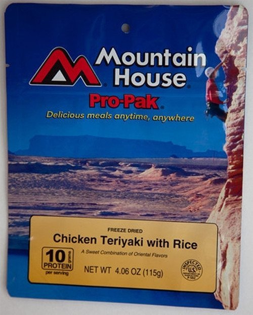 , Pro-Pak Chicken Teriyaki w/ Rice, Rapid Survival, Rapid Survival
