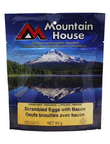 , Scrambled Eggs With Bacon – One Serving Entree, Rapid Survival
