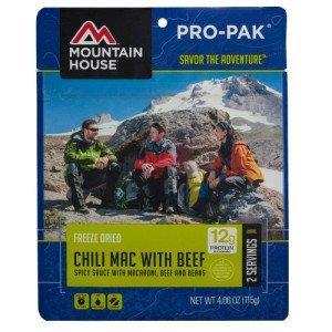 , Pro-Pak Chili Mac w/ Beef, Rapid Survival