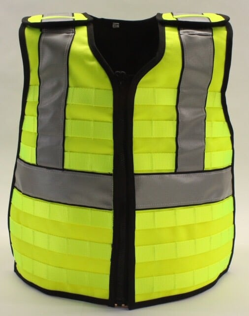 Hi Vis Load Bearing, Hi Vis Load Bearing Orange or Yellow MOLLE Vest, Rapid Survival, Rapid Survival