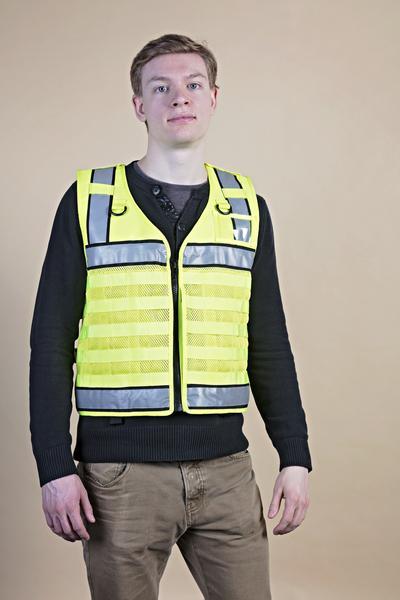 Hi Vis Load Bearing MOLLE Vest