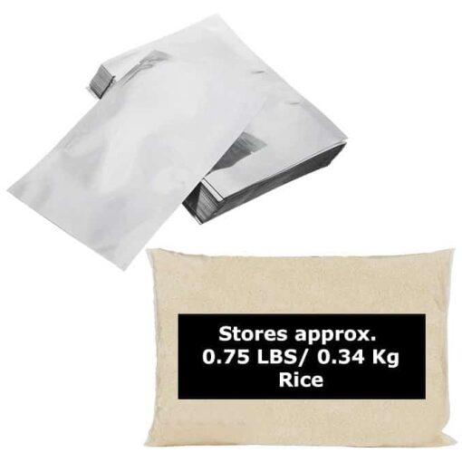 1 quart Mylar Bags