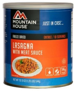 lasagna wmeat sauce 10 can
