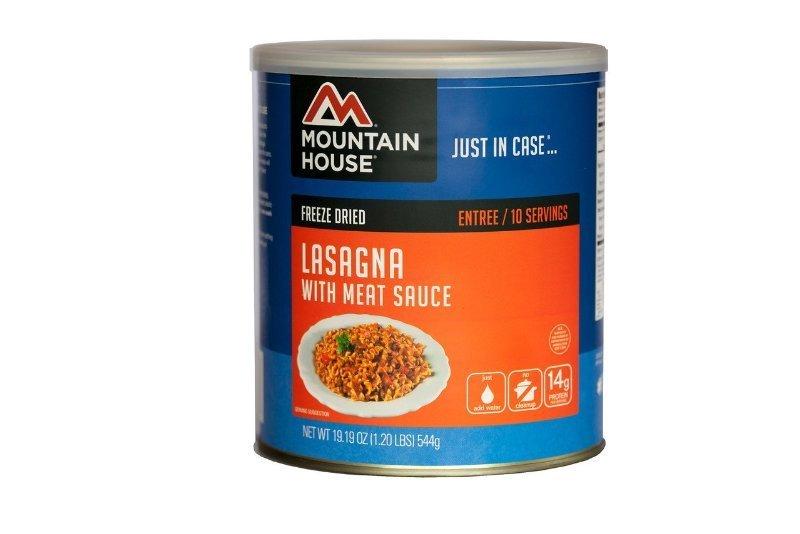 lasagna wmeat sauce 10 can
