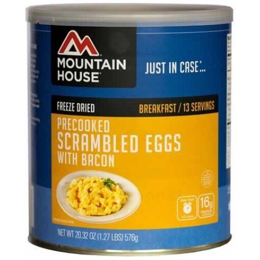 scrambled eggs wbacon