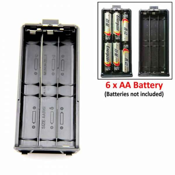 Baofeng AA Battery Case 3800mah