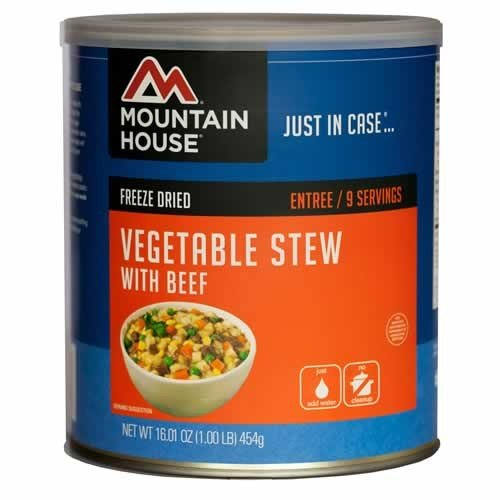, Mountain House Beef Stew #10 Can, Rapid Survival, Rapid Survival