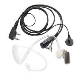 2-Pin Covert Acoustic Tube Headset Earpiece