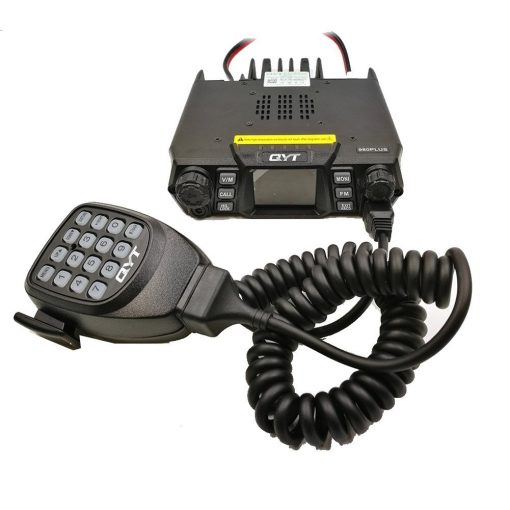 , QYT KT-980 Plus Transceiver Radio 75W 200CH Multiple Function VHF/UHF Dual Band Quad band Standby, Rapid Survival, Rapid Survival