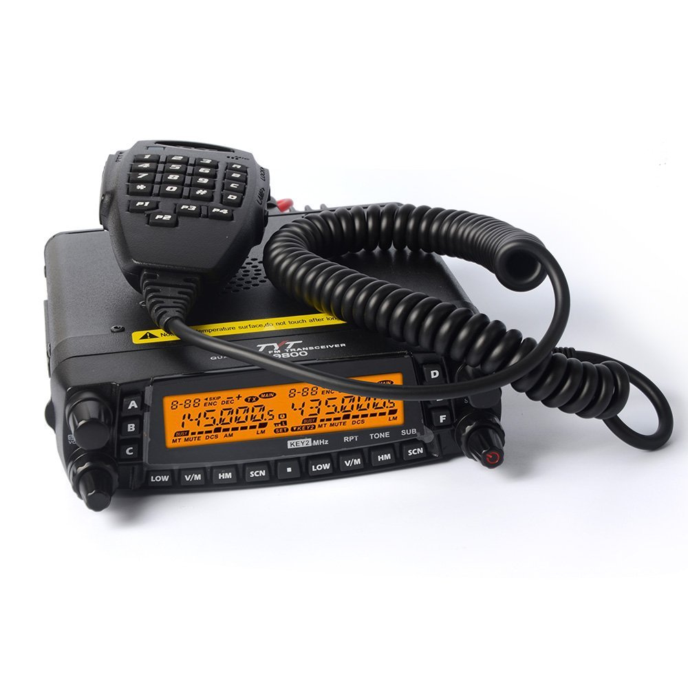 TYT TH-9800 (Plus version) Quad Band 50W Cross-Band Transceiver