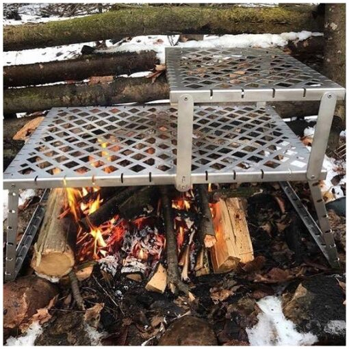 , GOSO Campfire Grill – Made in Canada, Rapid Survival, Rapid Survival