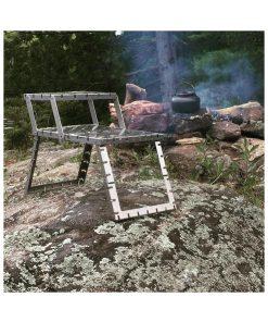 Compact GOSO Campfire Grill