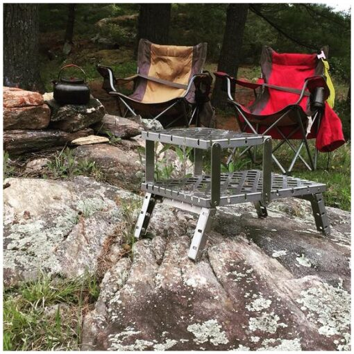 , Compact GOSO Campfire Grill – Made in Canada, Rapid Survival, Rapid Survival