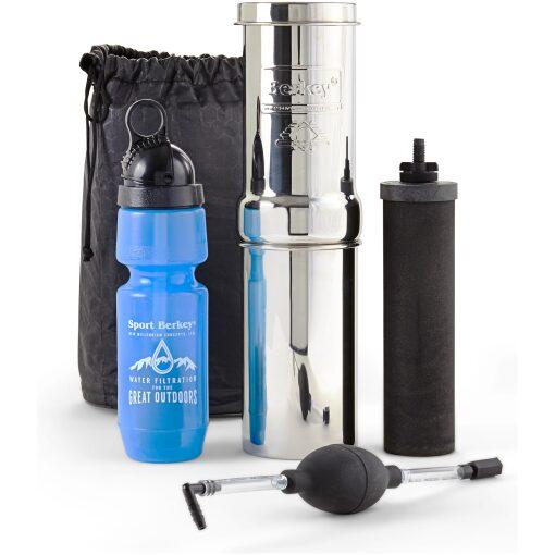 , Go Berkey® Kit (1 qt.) with Black Berkey Primer™, Rapid Survival