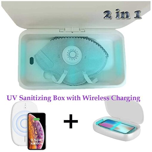 , UV Sanitizing Box with Wireless Charging, Rapid Survival, Rapid Survival
